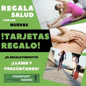 Tarjeta Regalo Fisiosport Madrid
